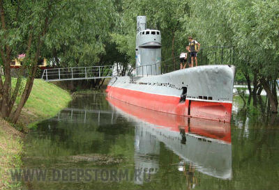Подводная лодка на Затоне!
